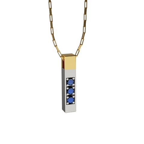 amuleto pingente dj laroc felipe aloisi joalheria ouro safira esmeralda diamante negro ouro branco (7)